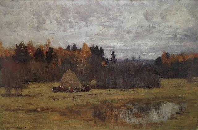 Исаак Ильич Левитан - Поздняя осень. 1894-1898