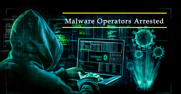 Malware Operators Arrested