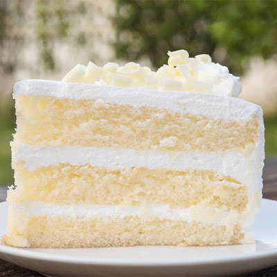★★★★★ | White velvet buttermilk cake recipe