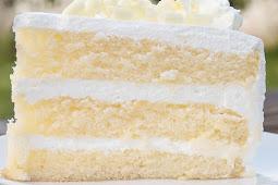 ★★★★★ | White velvet buttermilk cake recipe