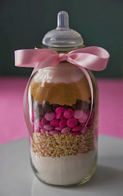 Baby shower favors A Gift of Dry Cookie Mix