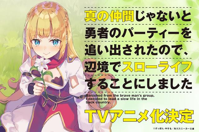 Confirmación de la adaptación al anime de la novela Shin no Nakama
