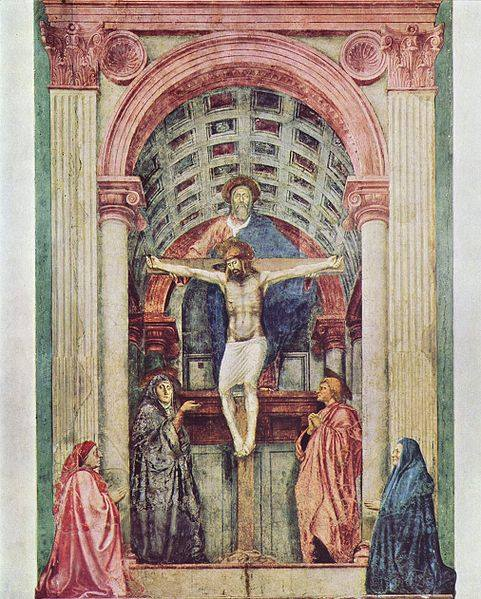La Santissima Trinità del Masaccio