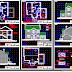 مجموعة مخططات منازل (مجموعة 4 ) اوتوكاد dwg