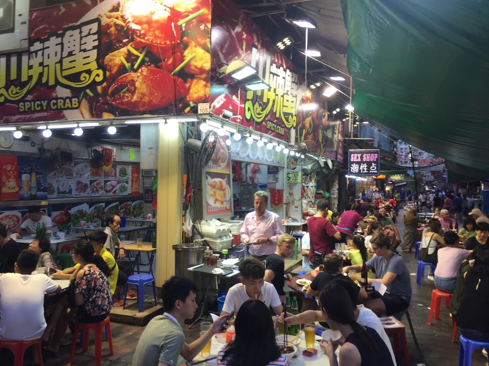 Travel Like Ant - Hong kong market kent