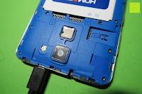 "Akku enthalten: HOMTOM HT30 3G Smartphone 5.5""Android 6.0 MT6580 Quad Core 1.3GHz Mobile Phone 1GB RAM 8GB ROM Smart Gestures Wake Gestures Dual SIM OTA GPS WIFI,Weiß"