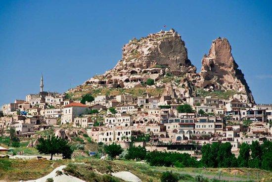 Citadel of Uchisar Turkey