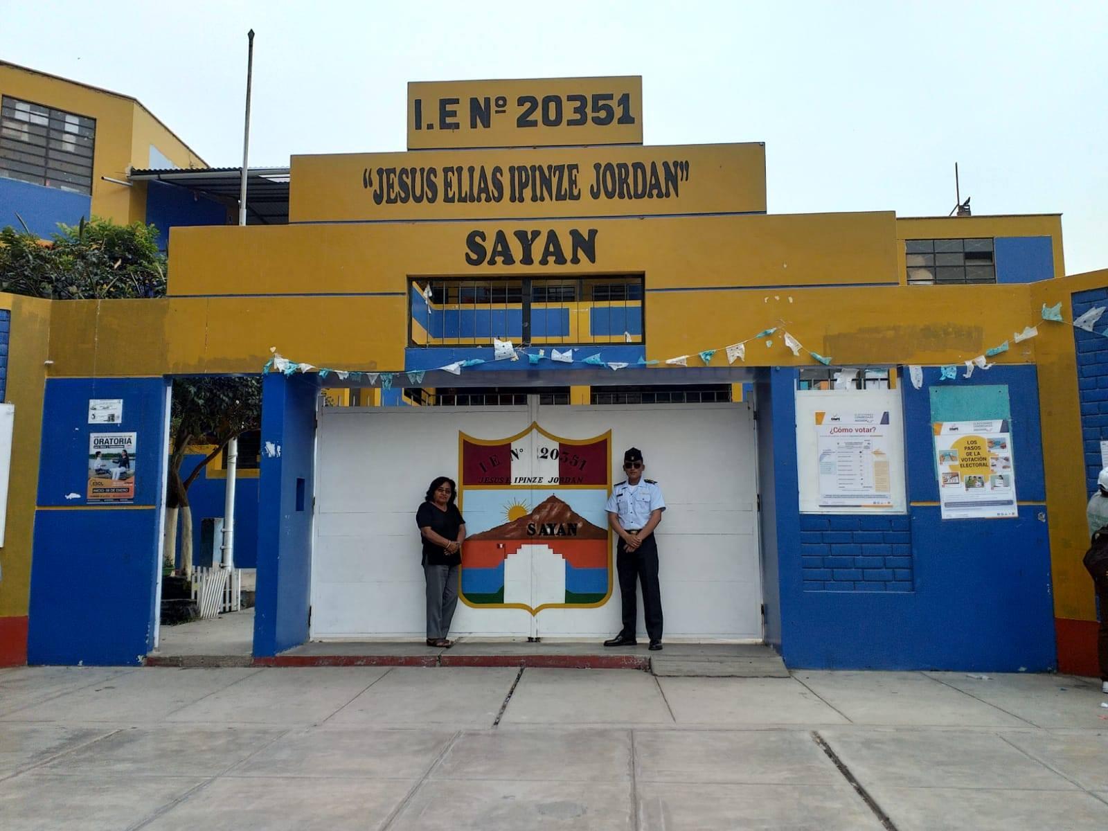 Escuela 20351 JESÚS ELÍAS IPINZE JORDAN - Sayán