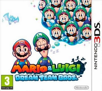 Rom Mario y Luigi Dream Team Bros 3DS