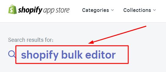 shopify bulk editor app