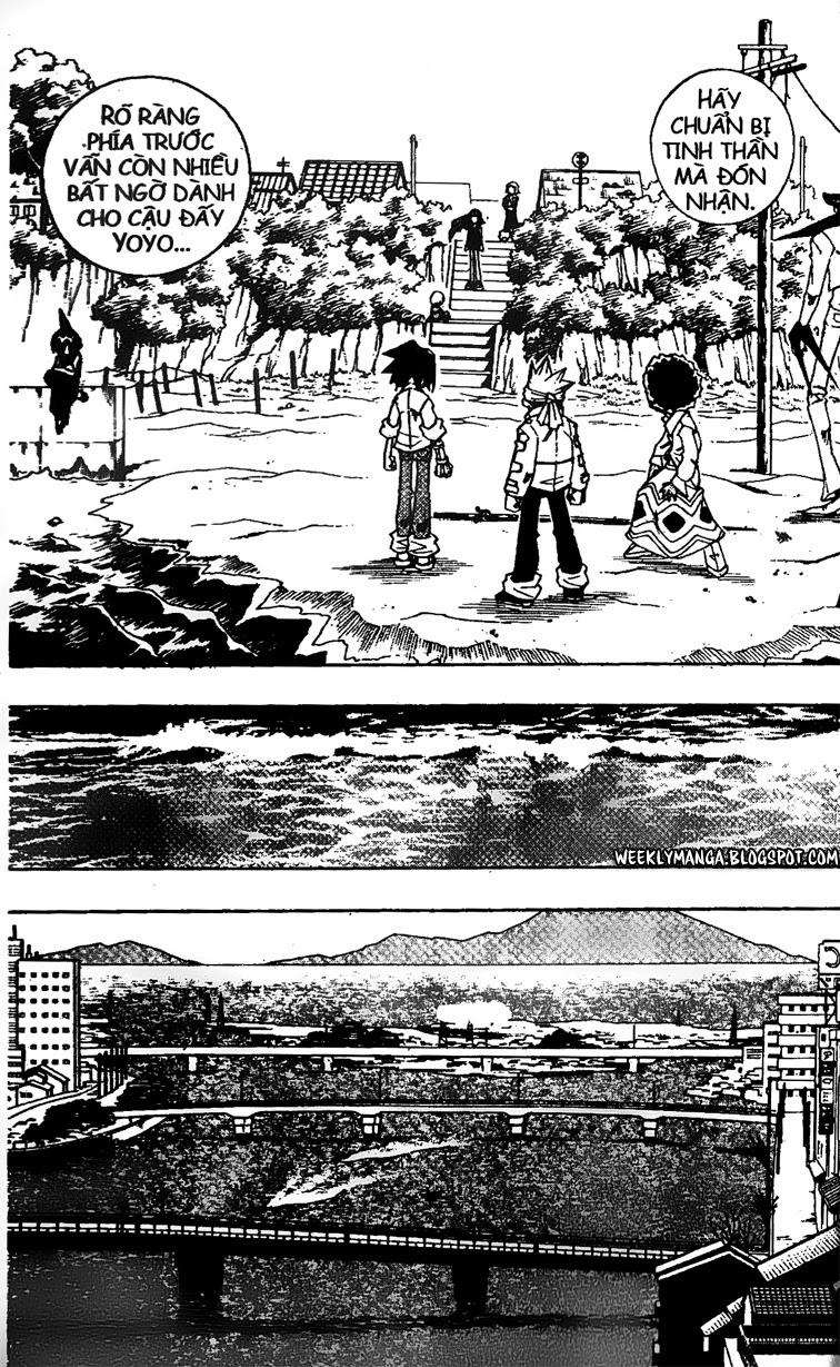 Shaman King [Vua pháp thuật] chap 142 trang 11