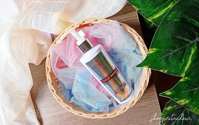 Bioxsine Pure & White Face Wash