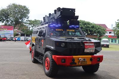 Pemprov Dukung Vaksinasi Covid-19 Keliling Polda Lampung