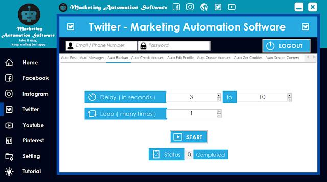 Cara Cepat Backup Data Twitter Secara Automatis