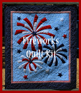 Fireworks-Wall-Hanging-Art-Patriotic-Fourth-July-Red-White-Blue