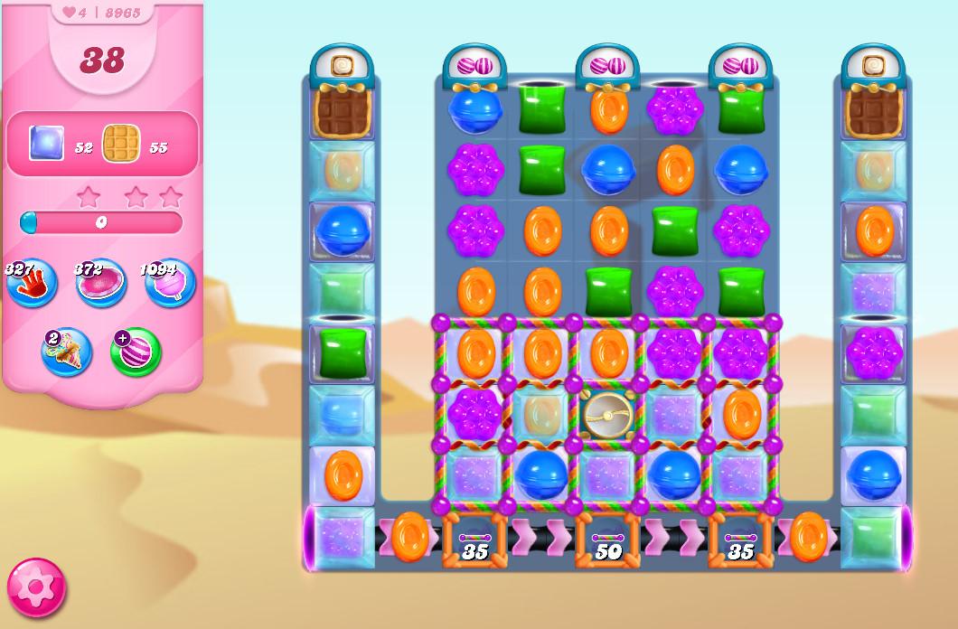 Candy Crush Saga level 8965