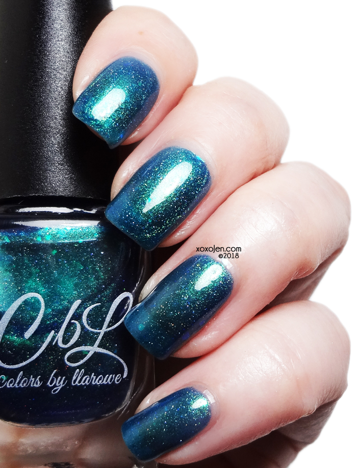 xoxoJen's swatch of Colors By Llarowe Delimare