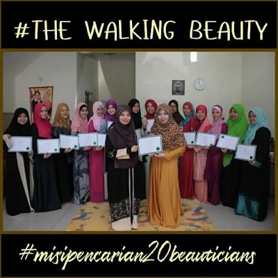 The walking beauty, twb