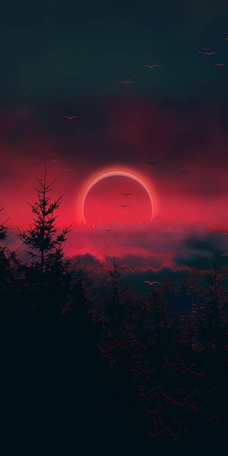 Eclipse sky