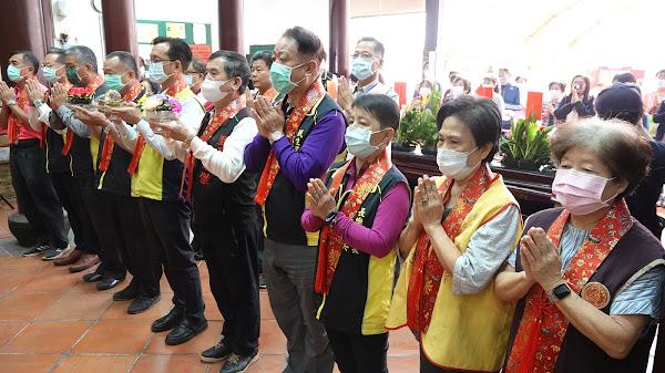 彰化市開化寺紀念觀音菩薩出家普渡眾生十供祭典
