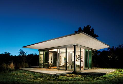 Casas modulares y prefabricadas de diseño: pequeño refugio ...