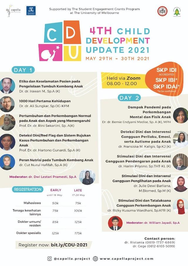 (SKP IDI, SKP IBI, SKP IDAI) 4th Child Development Update 2021
