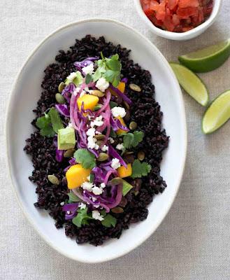 Black Rice Burrito Bowl Recipe