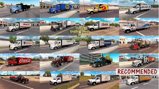 ats truck traffic pack v2.2.1 by jazzycat