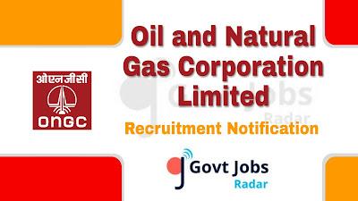 ONGC recruitment notification 2019, govt jobs in maharashtra, govt jobs in mumbai, govt jobs for ITI, govt jobs in graduate, central govt jobs