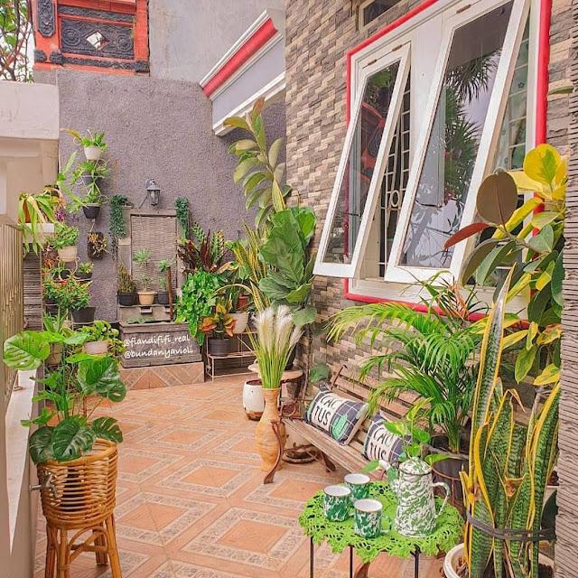 Inspirasi Desain Taman Depan Rumah Minimalis di Lahan Sempit Terbaru
