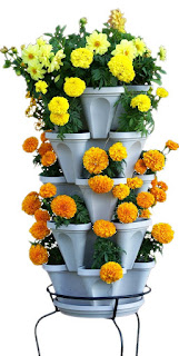 5 tier stackable pot
