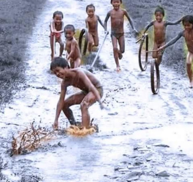 Nostalgia Kehidupan Budak Zaman Dahulu Tanpa Gajet Canggih