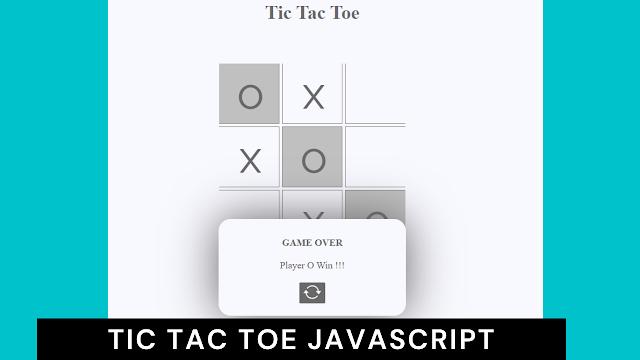 tic tac toe javascript   Tic Tac Toe game javascript code