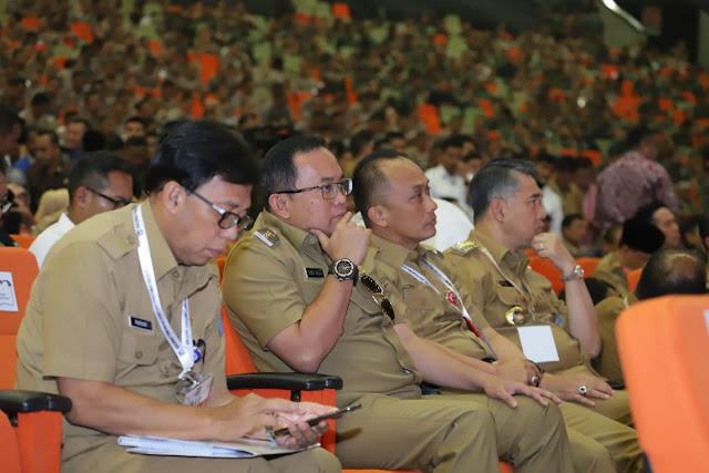 Bupati Muba Hadiri Rakornas Pemerintah Pusat dan Forkopimda Tahun 2019
