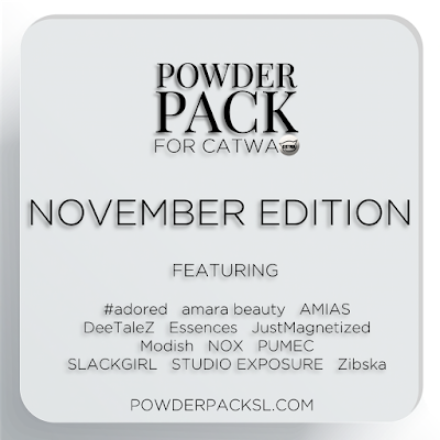 Only 3 days left to pre order your Catwa Powder Pack for November!