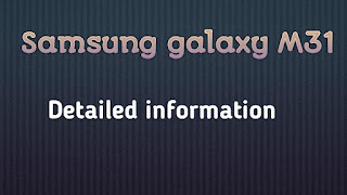 Samsung galaxy m31 price  || samsung galaxy m31 review
