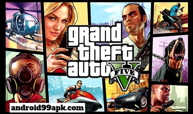 لعبة Grand Theft Auto V v0.1 كاملة بحجم 105 MB للأندرويد