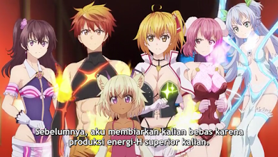 Dokyuu Hentai HxEros Episode 12 END Subtitle Indonesia