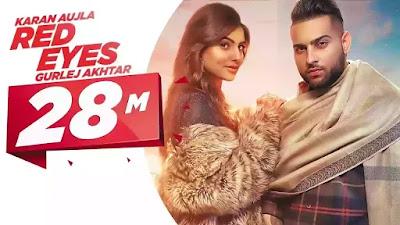 Red Eyes Song Lyrics In Hindi - Karan Aujla