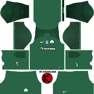 Panathinaikos F.C. Kits 2017/2018 - Dream League Soccer