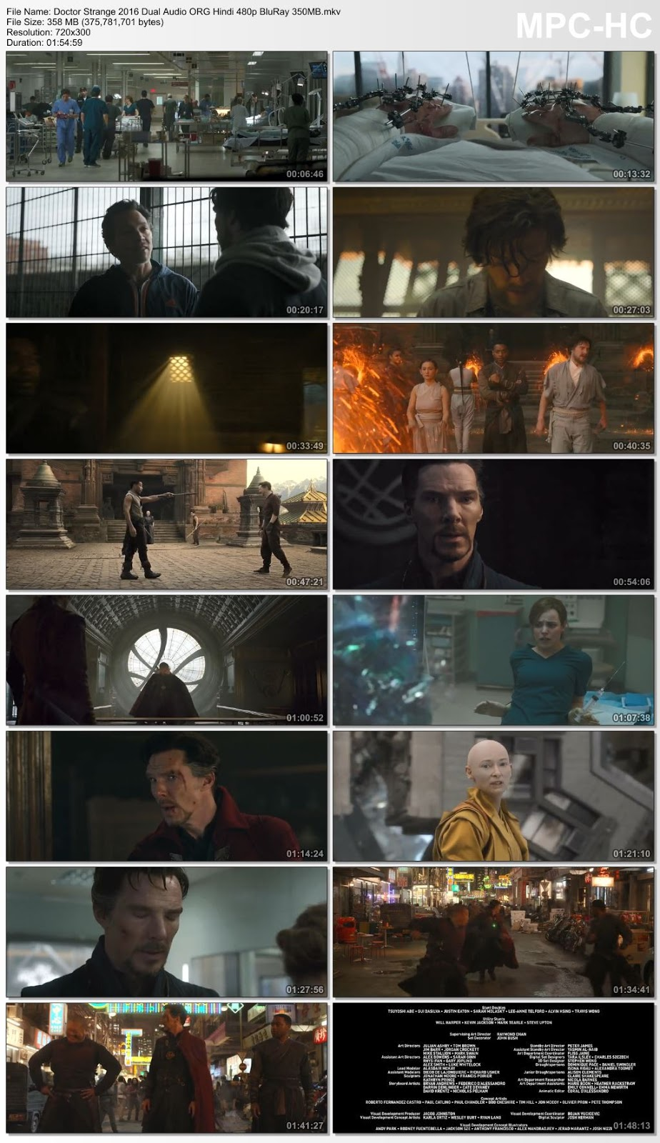 Doctor Strange 2016 Dual Audio ORG Hindi 480p BluRay 350MB Desirehub