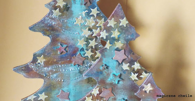 bożnonarodzeniowe choinki pełne gwiazdek