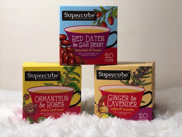SUPERCUBE Molasses Herbs Drink – Teh Herba Unik Berbentuk Kiub