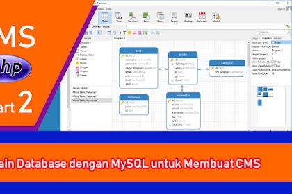 Tutorial PHP - Membangun CMS dengan PHP dan MySQL - Part 2 - Membuat Database