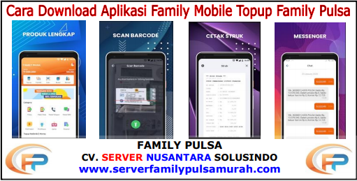 Aplikasi Android Family Pulsa