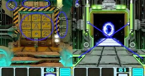 100 Doors Aliens Space Level 60 61 62 63