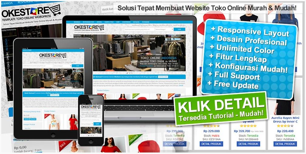 Jual theme Wordpress yang anggun untuk toko online Theme Wordpress Untuk Toko Online