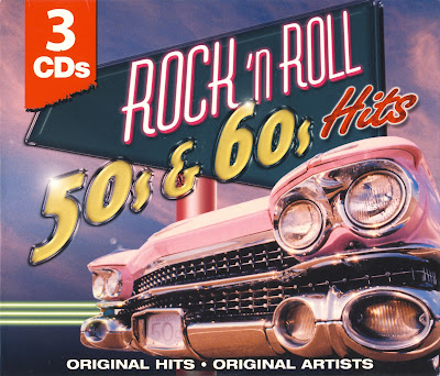 Rock And Roll 50's and 60's Hits (3 CD Set)