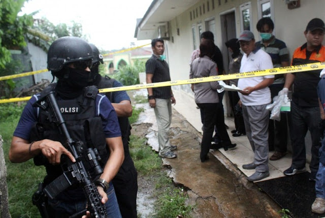 Tim Densus 88 Tangkap Terduga Teroris Di Klaten