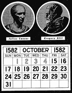 hilangnya tangal 5-14 oktober 1582